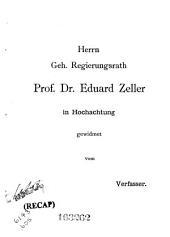 Giordano Bruno's Lehre vom Kleinsten als die Quelle der Prästabilirten Harmonie von Leibnitz