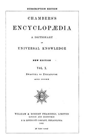 Chambers s Encyclopaedia PDF