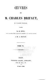 Oeuvres de M. Charles Brifaut: Volume6