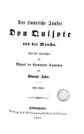 Der Sinnreiche Junker Don Quijote von der Mancha,1