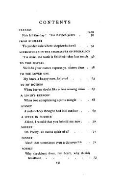 The Poems of Arthur Henry Hallam
