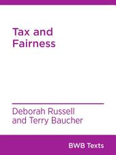Tax and Fairness