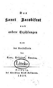 Das Sanct Jacobifest: und andere Erzählungen