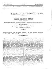 Atti parlamentari del Senato del Regno documenti: Dal 191 al 260