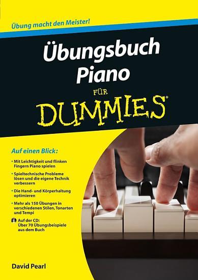bungsbuch Piano f  r Dummies PDF