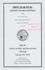 Legislative Synopsis and Digest     PDF