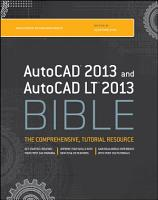 AutoCAD 2013 and AutoCAD LT 2013 Bible PDF