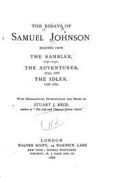 The Essays of Samuel Johnson
