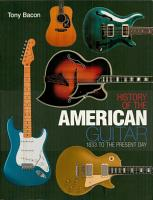 History of the American Guitar PDF