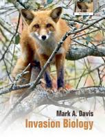 Invasion Biology PDF