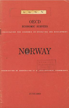 OECD Economic Surveys  Norway 1968 PDF