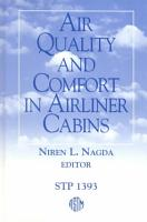 Air Quality and Comfort in Airliner Cabins PDF