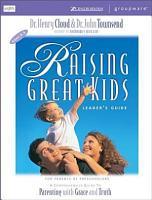 Raising Great Kids for Parents of Preschoolers PDF