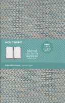 Moleskine Blend Limited Collection Notebook 2019  Large  Ruled  Blue  5 X 8 25