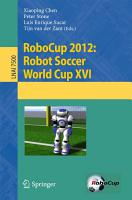 RoboCup 2012  Robot Soccer World Cup XVI PDF