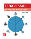 Loose Leaf for Purchasing and Supply Management PDF