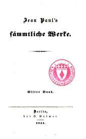 Jean Paul's Sämmtliche Werke: Bände 11-12