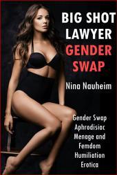 Big Shot Lawyer Gender Swap (Gender Swap Aphrodisiac Menage and Femdom Humiliation Erotica)