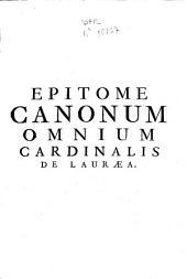 Epitome canonum omnium ...