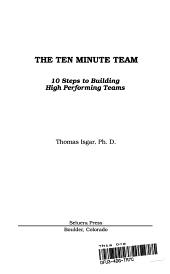 The Ten Minute Team PDF