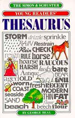 The Simon and Schuster Young Readers' Thesaurus