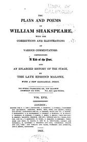 The plays and poems of William Shakspeare: Volume 17