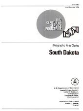 1977 Census of Service Industries: Geographic Area Series, District of Columbia, Volume 3