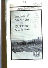 The Use of Machinery in Cutting Corn