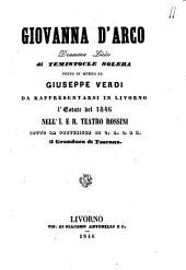 Giovanna d'Arco dramma lirico