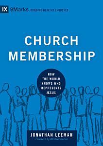 Church Membership Book