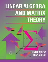 Linear Algebra And Matrix Theory Book PDF