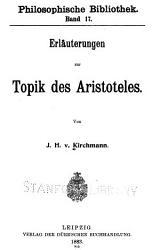 Erl  uterungen zur Topik des Aristoteles PDF