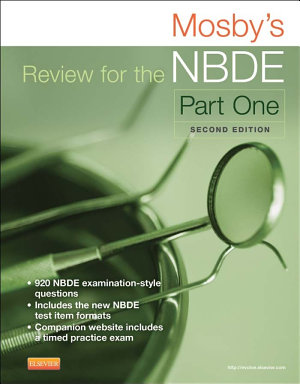 Mosby s Review for the NBDE Part I   E Book PDF