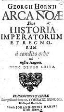 G  H  Arca No    sive Historia Imperiorum et Regnorum a condito orbe ad nostra tempora PDF