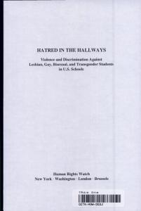 Hatred in the Hallways PDF