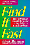 Find It Fast Fourth Edition