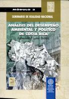 AN  LISIS DEL DESEMPE  O AMBIENTAL Y POL  TICO DE COSTA RICA  m  dulo III  PDF