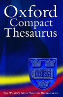 The Oxford Compact Thesaurus PDF