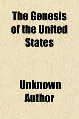 The Genesis of the United States PDF