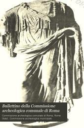 Bullettino della Commissione archeologica comunale di Roma: Volume 19