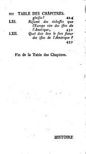 Histoire philosophique et politique des établissements & du commerce des européens dans les deux Indes: tome premier [- septieme], Volume5