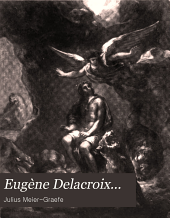 Eugène Delacroix ...: nebst dem katalog einer Delacroix-ausstellung