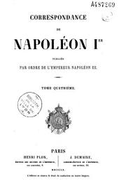 Correspondance de Napoléon I