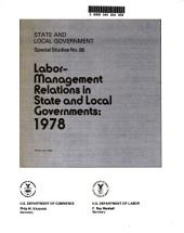 Labor-management relations in state and local governments: Volume 95