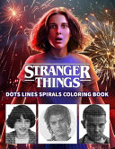 STRANGER THINGS Dots Line Spirals Coloring Book