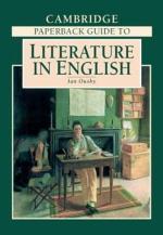 The Cambridge Paperback Guide to Literature in English