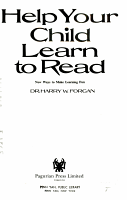 Help Your Child Learn to Read PDF