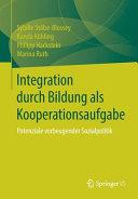 Integration durch Bildung als Kooperationsaufgabe PDF