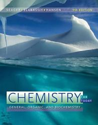 Chemistry for Today  General  Organic  and Biochemistry PDF