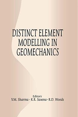 Distinct Element Modelling in Geomechanics PDF